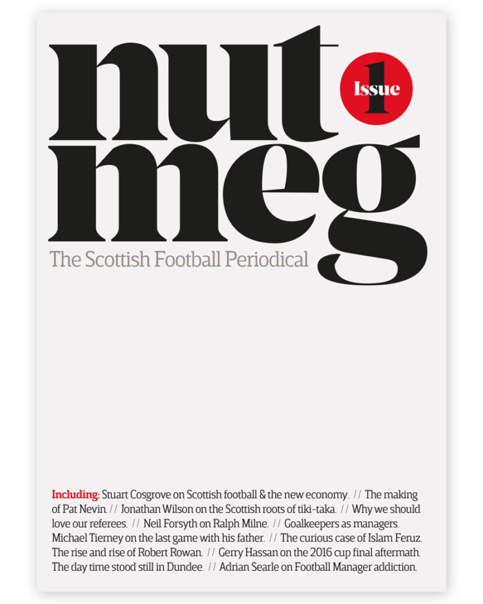 Nutmeg Issue 01 Cover